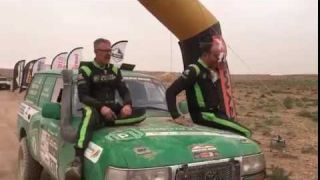 De ontladingna de finish Samen met Greenteam Panhuijzen